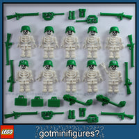 LEGO SKELETON ARMY minifigures X10