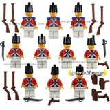 NEW LEGO RED IMPERIAL ARMADA ARMY 10 minifigures guns figure people LOT minifig