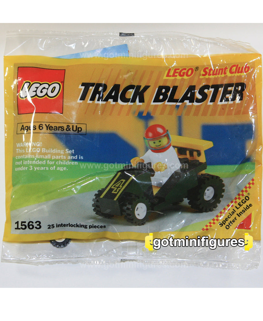 LEGO City TRACK BLASTER 1990 polybag minifigure #1563