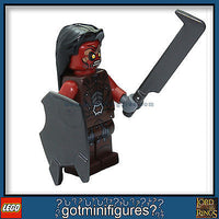 LEGO Lotr URUK HAI #1 Warrior Lord of the Rings minifigure from 9471 BRAND NEW