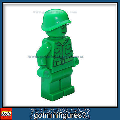 LEGO Toy Story GREEN ARMY MAN SOLDIER minifigure patrol minifig BRAND NEW