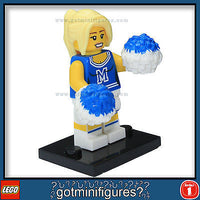 Series 1 LEGO CHEERLEADER minifigure  8683