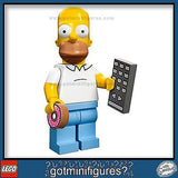 The SIMPSONS LEGO Series - HOMER SIMPSON - minifigure BRAND NEW 71005