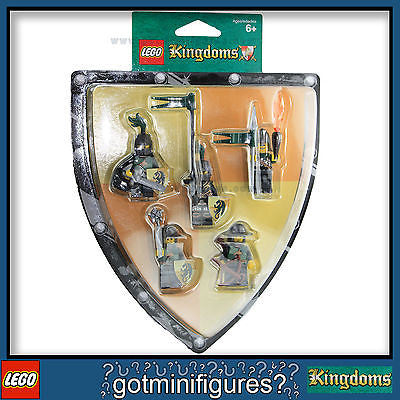 LEGO Kingdoms GREEN DRAGONS BATTLE PACK 5 minifigures Castle 852922 BRAND NEW