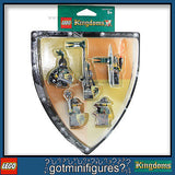 LEGO Kingdoms GREEN DRAGONS BATTLE PACK 5 minifigures Castle 852922