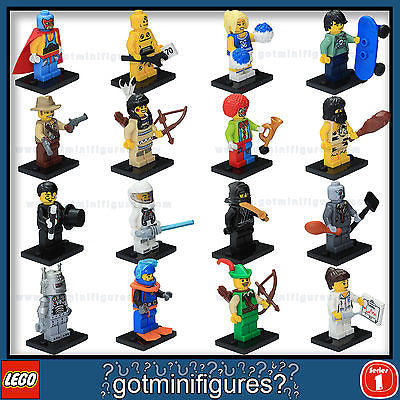 Series 1 LEGO COMPLETE SET of 16 minifigures 8683