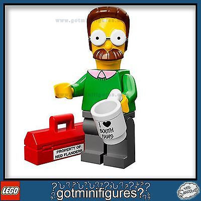 The SIMPSONS LEGO Series - NED FLANDERS 71005