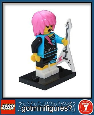 Series 7 LEGO ROCKER GIRL minifigure 8831