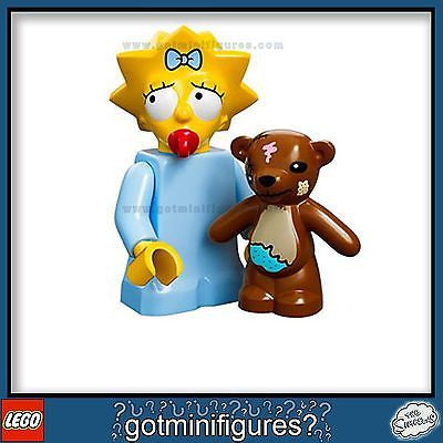 The SIMPSONS LEGO Series - MAGGIE SIMPSON - minifigure BRAND NEW 71005