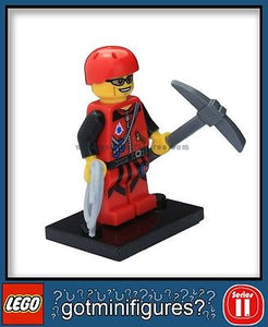 Series 11 LEGO MOUNTAIN CLIMBER minifigure  71002