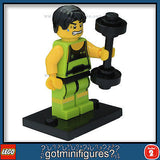 Series 2 LEGO WEIGHTLIFTER minifigure 8684