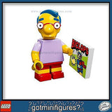 The SIMPSONS LEGO Series - MILHOUSE VAN HOUTEN - minifigure BRAND NEW 71005