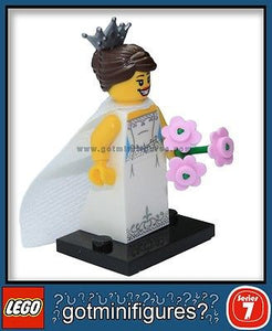 Series 7 LEGO BRIDE minifigure 8831