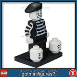Series 2 LEGO MIME minifigure 8684