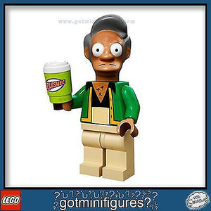 The SIMPSONS LEGO Series - APU NAHASAPEEMAPETILON - minifigure BRAND NEW 71005