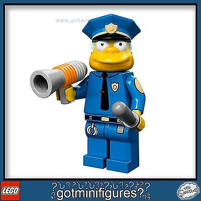 The SIMPSONS LEGO Series - CHIEF WIGGUM - minifigure  BRAND NEW 71005