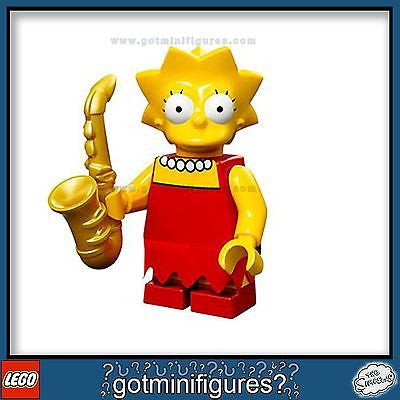The SIMPSONS LEGO Series - LISA SIMPSON - minifigure BRAND NEW 71005