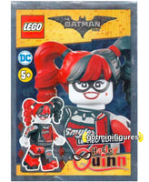 The Lego BATMAN Movie DC foil HARLEY QUINN sealed polybag minifigure #211804