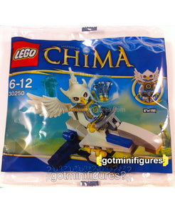 LEGO Chima EWAR Legends of Polybag #30250 sealed minifig Acro Fighter BRAND NEW