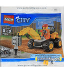 LEGO City DEMOLITION DRILLER 30312 polybag