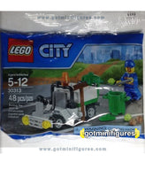 LEGO City GARBAGE TRUCK 30313 polybag minifigure