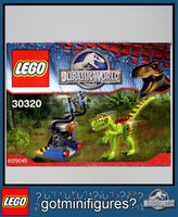 LEGO JURASSIC WORLD - GALLIMIMUS TRAP Dinosaur 30320