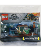 LEGO JURASSIC WORLD - BABY VELOCIRAPTOR Sealed Polybag Dinosaur 30382
