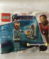 LEGO MARVEL AVENGERS IRON MAN and Dum-E polybag minifigure #30452