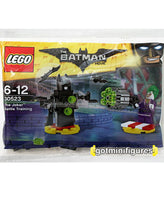 The Lego BATMAN Movie JOKER BATTLE TRAINING sealed polybag minifigure #30523