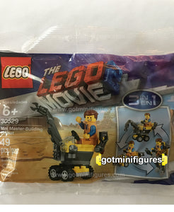 The LEGO MOVIE 2 - MINI MASTER BUILDING EMMET polybag minifigure 30529