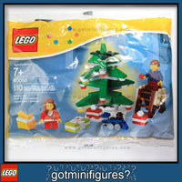 LEGO Christmas DECORATING THE TREE minifigures