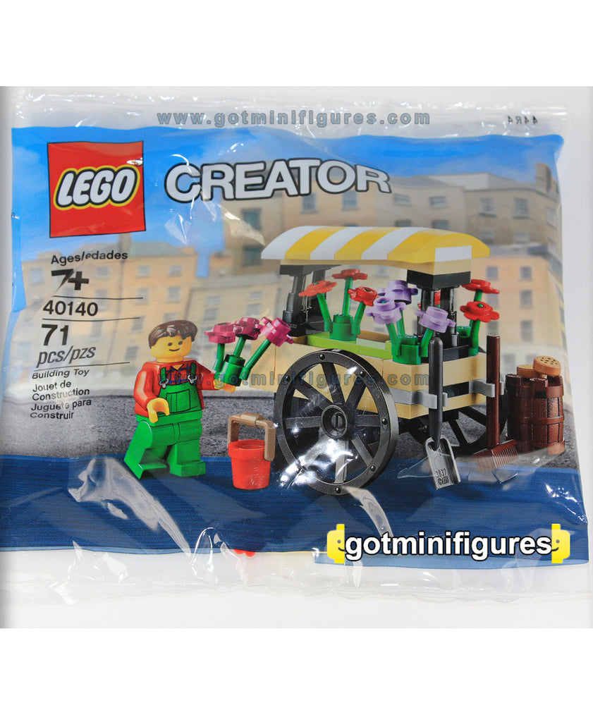 LEGO Creator FLOWER CART WAGON 40140 polybag