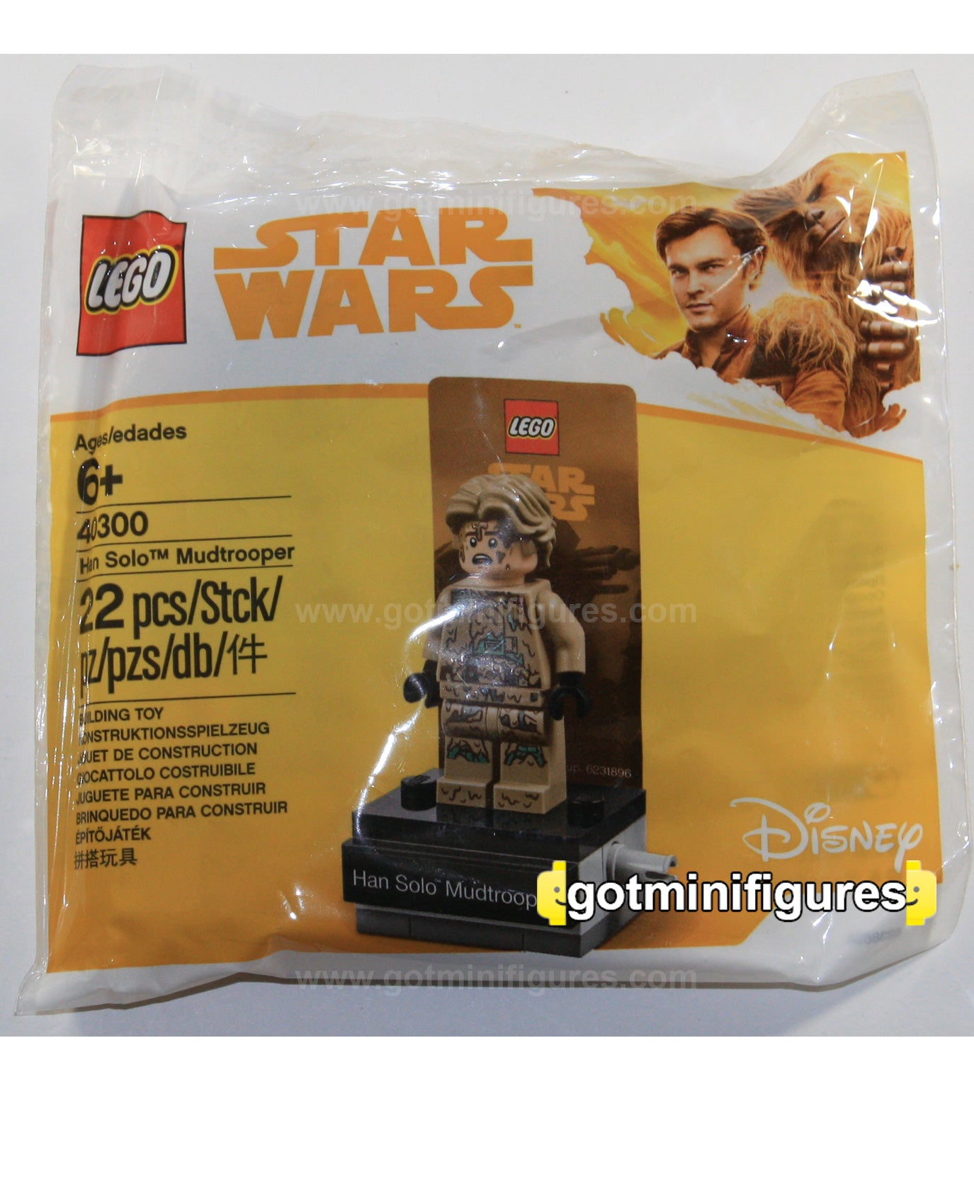 LEGO® 40300 Star Wars Han Solo Mudtrooper Polybag Minifigur
