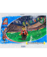 LEGO COCA COLA Red Team Soccer polybag minifigure 4443