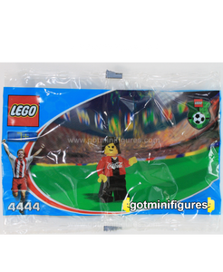 LEGO COCA COLA Red Team Soccer polybag minifigure 4444