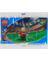 LEGO COCA COLA Red Team Soccer polybag minifigure 4445
