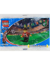 LEGO COCA COLA Red Team Soccer polybag minifigure 4446