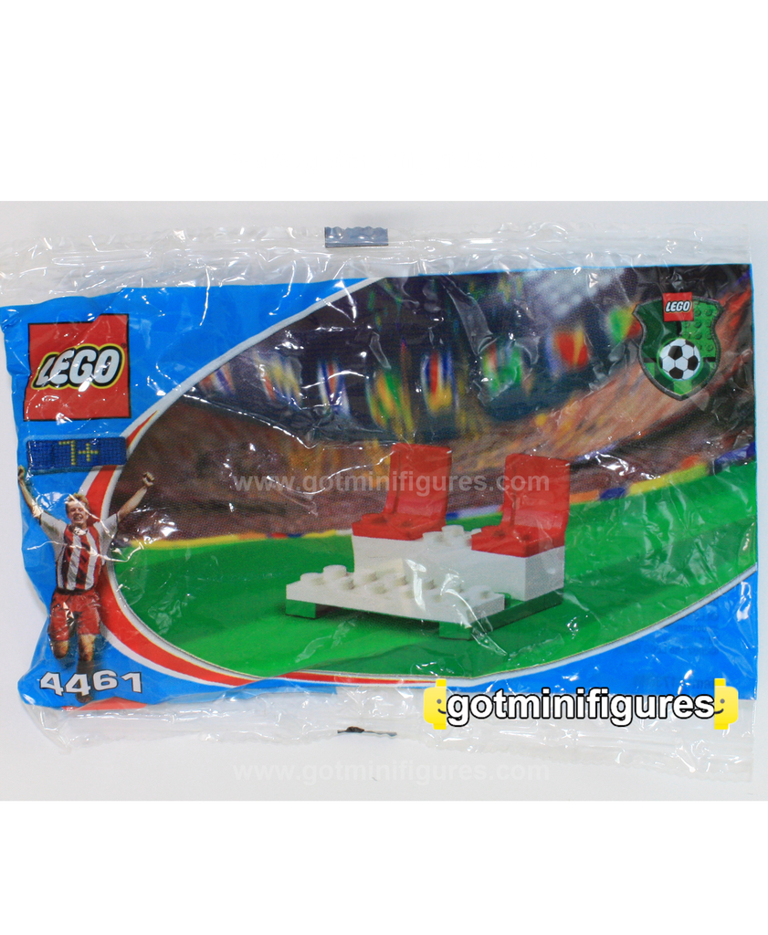 LEGO COCA COLA BENCH Soccer polybag for minifigure 4461