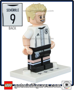 LEGO DFB German National Soccer TEAM (André Schürrle 9) #12 minifigure #71014