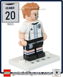 LEGO DFB German National Soccer TEAM (Christoph Kramer #14) minifigure #71014