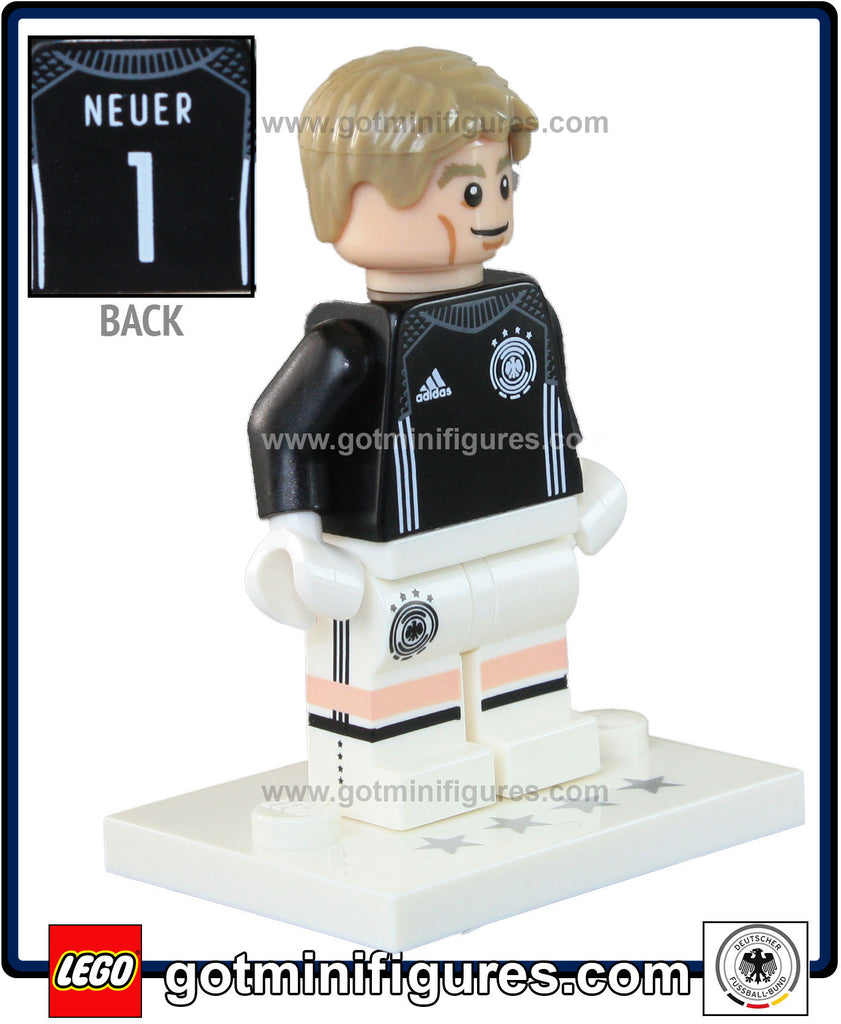 LEGO DFB German National Soccer TEAM (Manuel Neuer #2) minifigure #71014