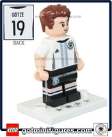LEGO DFB German National Soccer TEAM (Mario Götze #15) minifigure #71014