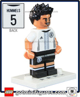 LEGO DFB German National Soccer TEAM (Mats Hummels #4) minifigure #71014
