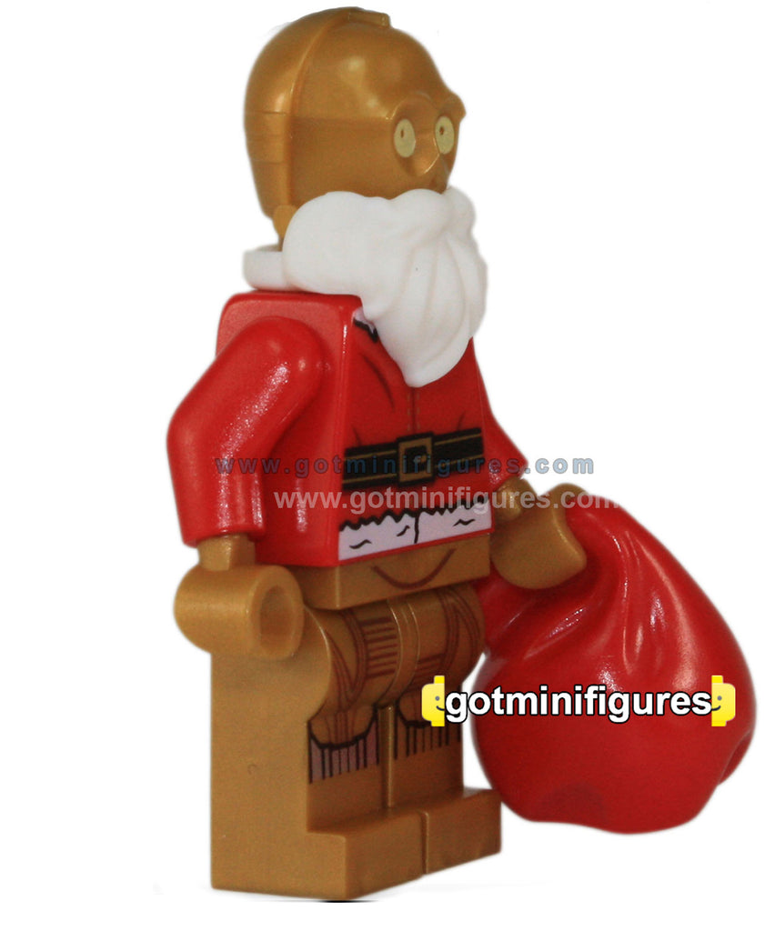 LEGO Star Wars XMAS GOLD C-3P0 (Christmas Advent) minifigure #75097