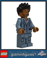 LEGO JURASSIC WORLD - SIMON MASRANI minifigure 75915