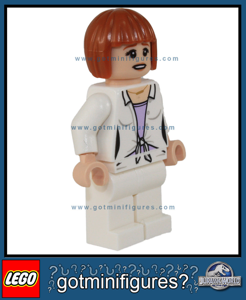 LEGO JURASSIC WORLD - CLAIRE minifigure 75917