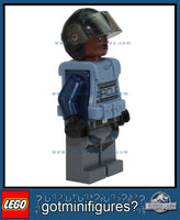 LEGO JURASSIC WORLD - ACU w/ moustache minifigure 75919