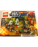 LEGO Star Wars ENDOR Rebel Trooper BATTLE PACK 4x minifigures 9489 Sealed NEW