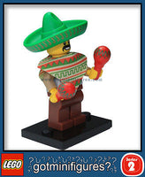 Series 2 LEGO MARACA MAN minifigure 8684