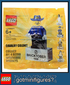LEGO Bricktober CAVALRY COLONEL minifigure Week 2 magnet minifig BRAND NEW